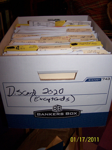 Box of files