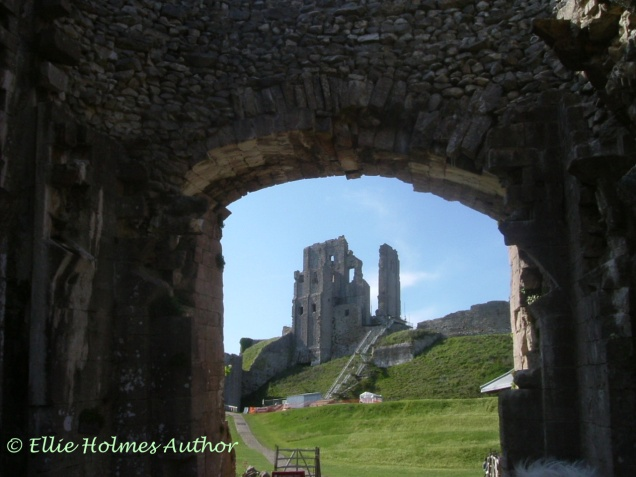 Corfe Castle - Ellie Holmes Author
