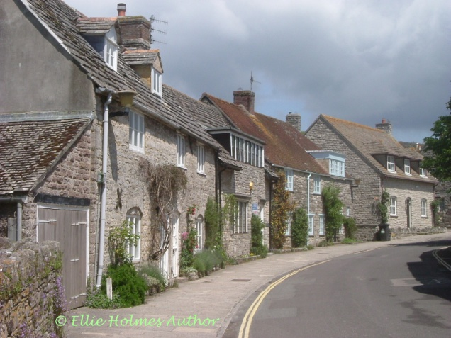 Corfe Castle Village - Ellie Holmes Author